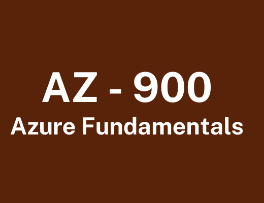 Azure Fundamentals Training