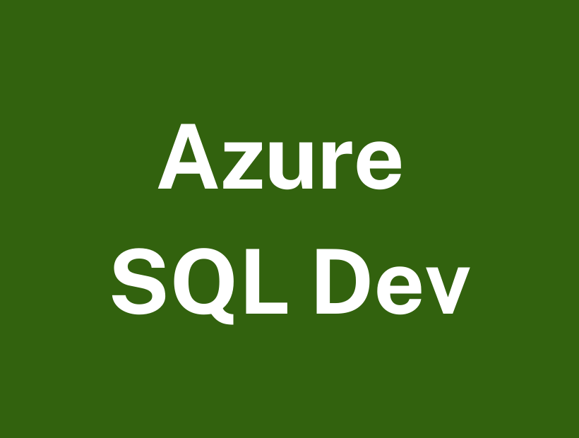 Azure SQL Course Training
