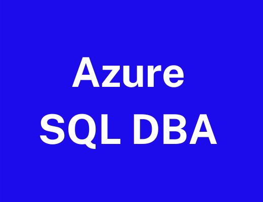 Azure DBA Course Training