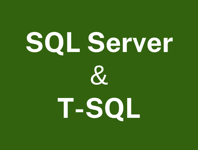 SQL Server Developer Training